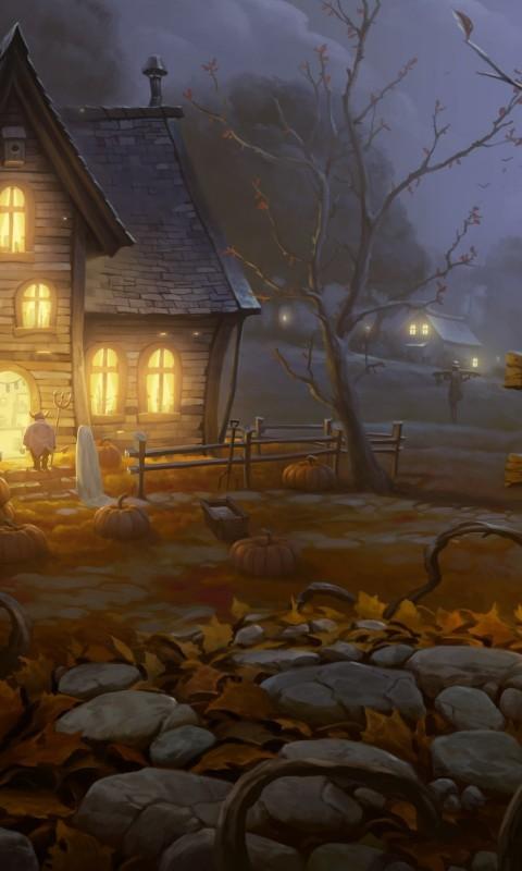 Halloween-Painting-2560×1600-dusicky-obrazky-na-plochu