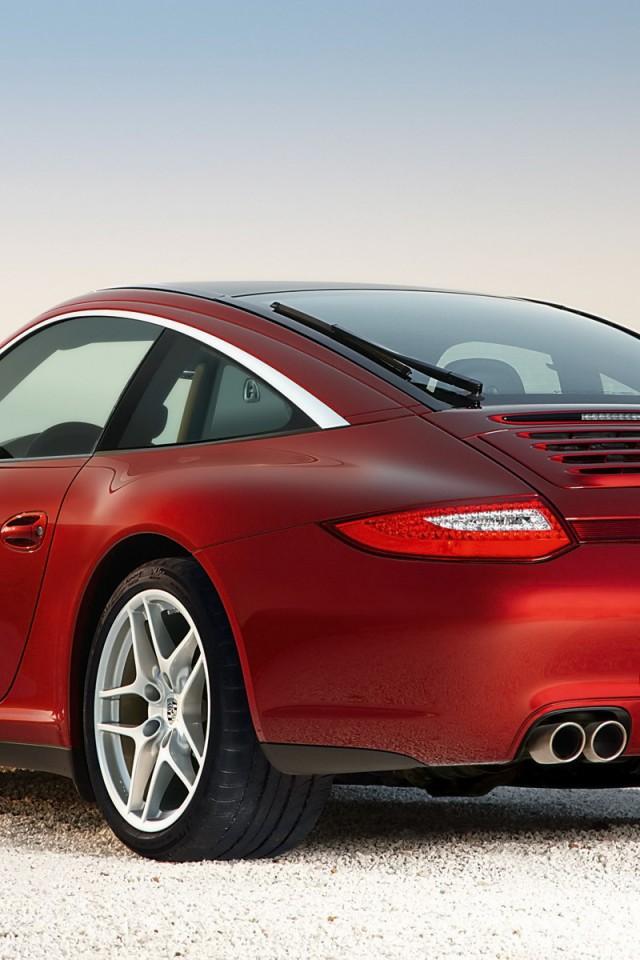 Porsche-911-Targa-4S-2009-Pozadia-na-plochu