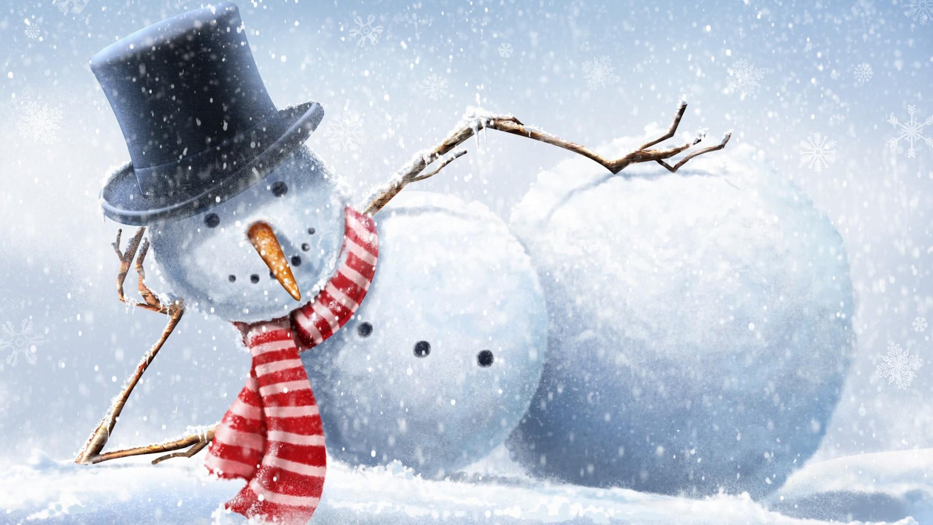vianoce-snehuliak